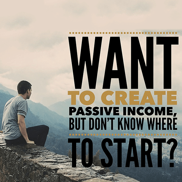 The Quest For Passive Income - image Create on https://www.deltafinancialgroup.com.au