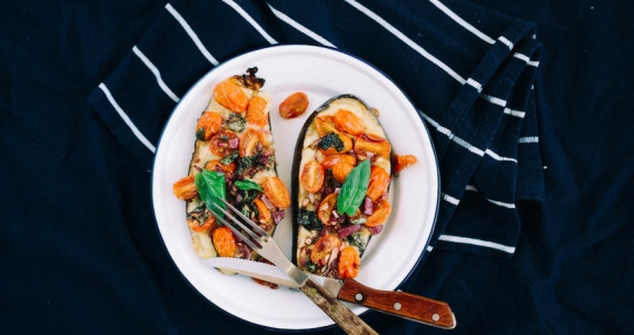 11 Budget-Friendly Family Meals - image eggplant-bruschetta on https://www.deltafinancialgroup.com.au