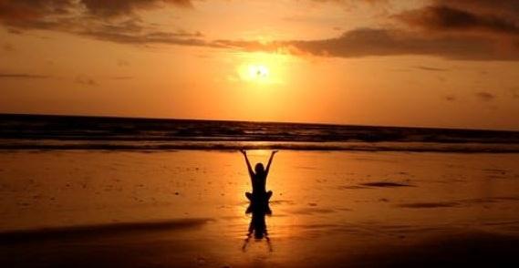 Your 5 step plan for a life of good mental health - image meditating on https://www.deltafinancialgroup.com.au