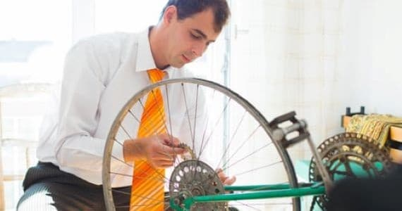 Top things to consider when returning to work - image bike on https://www.deltafinancialgroup.com.au