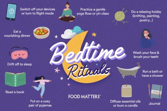 A few interesting facts about retirement - image bedtime-ritual on https://www.deltafinancialgroup.com.au